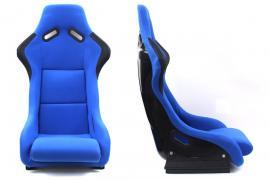 Fotel sportowy EVO WELUR BLUE