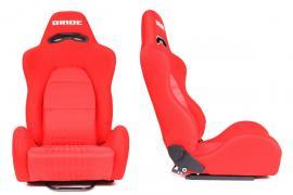 Fotel sportowy K700 RED