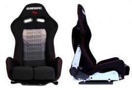 Fotel sportowy LOW MAX K608 BLACK GREY