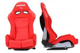 Fotel sportowy LOW MAX K608 RED