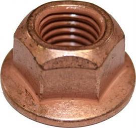 Nakrętka wydechu miedziowana 4636 M10X15