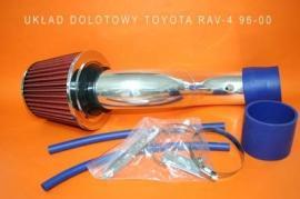Układ dolotowy TOYOTA RAV-4 96-00 blue