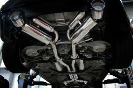 Układ wydechowy CatBack - Nissan 350Z