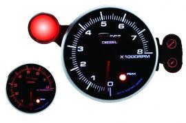 ZEGAR DEPO seria PK 95mm Obrotomierz 8000 Diesel