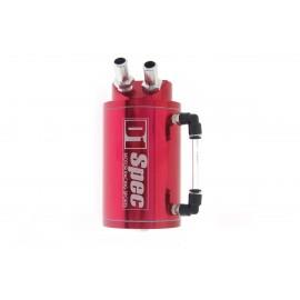 OIL CATCH TANK D1 SPEC 15mm RED