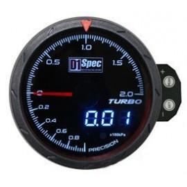 Zegar D1Spec 60mm - Turbo Electric 1-2 BAR