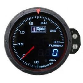 Zegar D1Spec 60mm - Turbo Electric 1-3 BAR