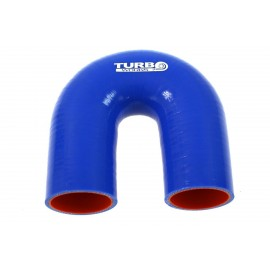 Kolanko 180st Blue 76mm