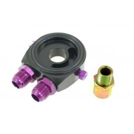 Podstawka pod filtr oleju TurboWorks Black AN8