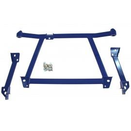 Rozpórka przednia dolna - LANCER EVO 7-9 BLUE