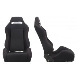 Fotel sportowy R-LOOK Materiał Black