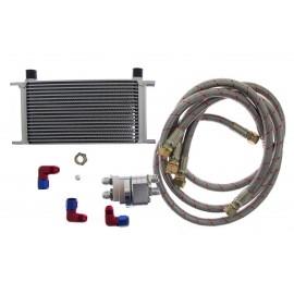 Oil Cooler KIT D1Spec 19 rzędów + Relocation