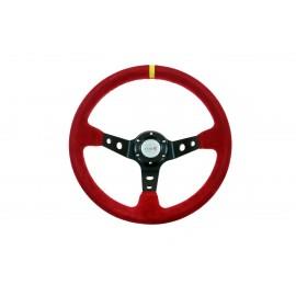 Kierownica ProRacing 5125 Zamsz Red