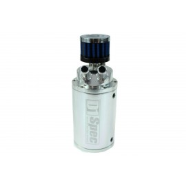 Oil catch tank D1Spec 15mm Silver + Filtr
