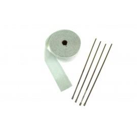 Taśma termiczna EPMAN 50mm x 1mm 10m White + opaski