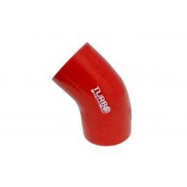 Kolanko redukcyjne silikon 45st 70-76mm