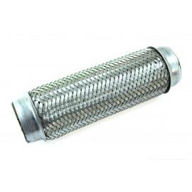 Łącznik elastyczny wydechu 1,75x10'' nierdzewka