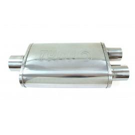 "Tłumik Środkowy TurboWorks LT 304SS Center 2,5"" Dual 2,25"" Y-Pipe"
