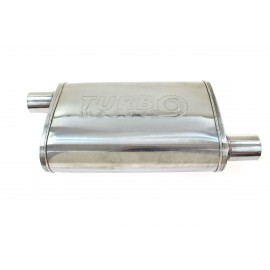 """Tłumik Środkowy TurboWorks LT 304SS Offset 2,75"""" Offset 2,75"""""""