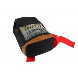 Plecak Takata Black Szelki czerwone bride