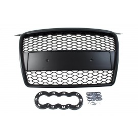 GRILL AUDI A3 8P RS-STYLE BLACK (05-08)