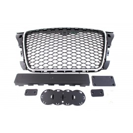 GRILL AUDI A3 8P RS-STYLE CHROME-BLACK (09-12)