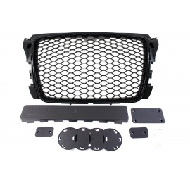 GRILL AUDI A3 8P RS-STYLE BRIGHT BLACK (09-12)
