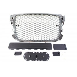GRILL AUDI A3 8P RS-STYLE CHROME (09-12) PDC