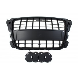 GRILL AUDI A3 8P S8-STYLE BRIGHT BLACK (09-12) PDC