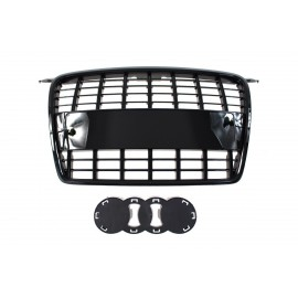 GRILL AUDI A3 8P S8-STYLE BLACK (05-09)