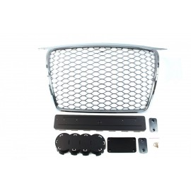GRILL AUDI A3 8P RS-STYLE CHROME (05-09)