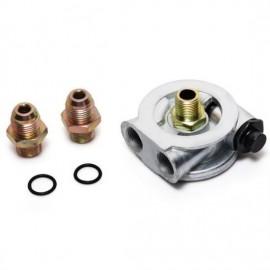 Adapter pod filtr oleju 3/4 UNF AN8 z Termostatem